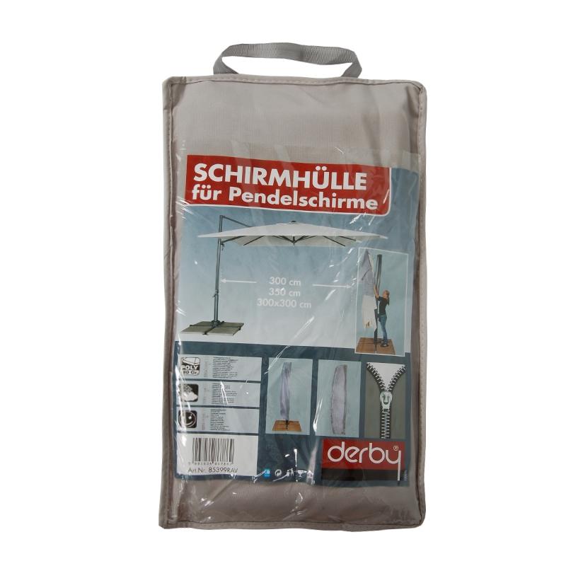 Ochranný obal pro výkyvné slunečníky až do 400 cm šedý