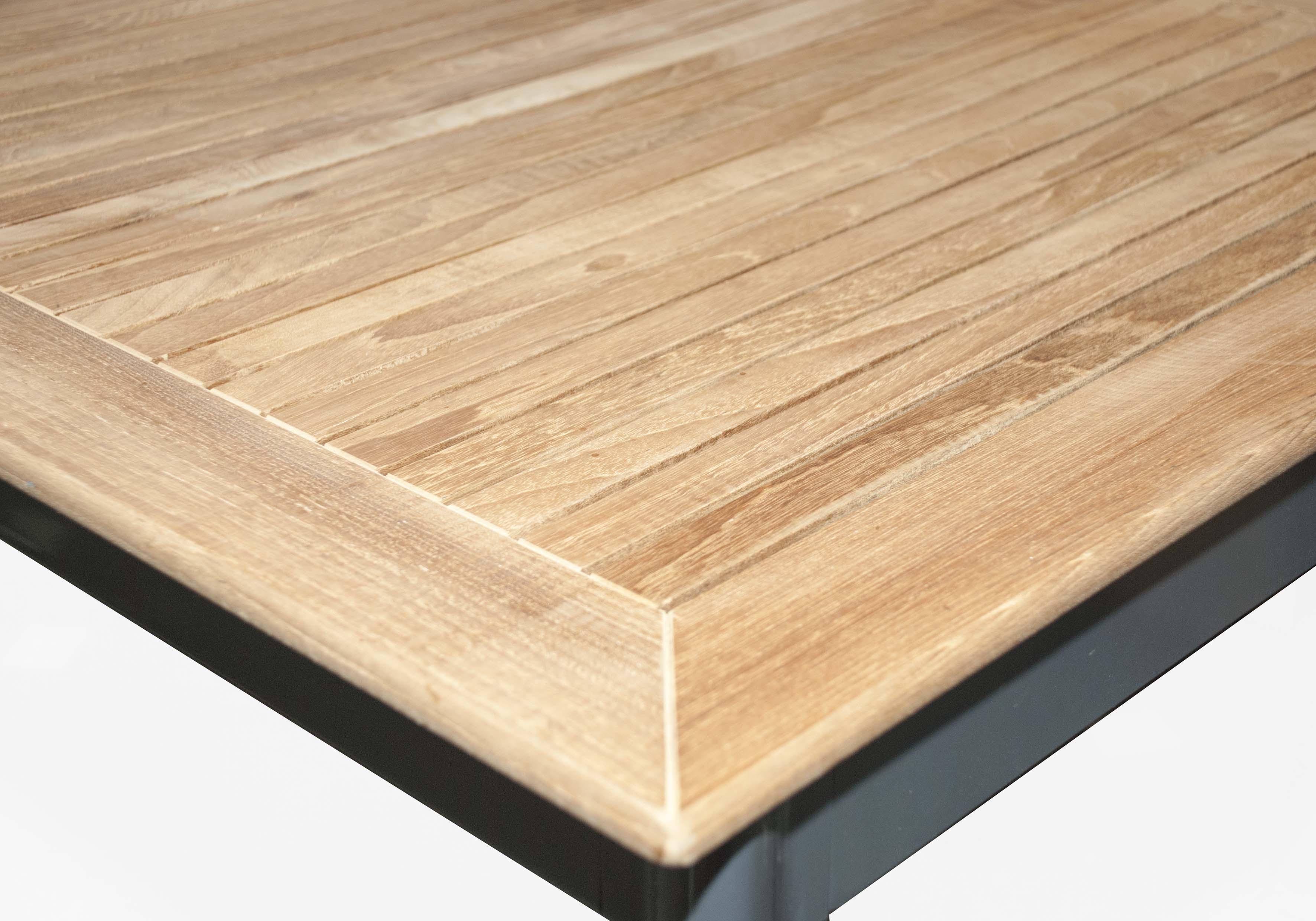 CONCEPT TEAK 4 plus 1 - zahradní sedací souprava (hliník/teakové dřevo)