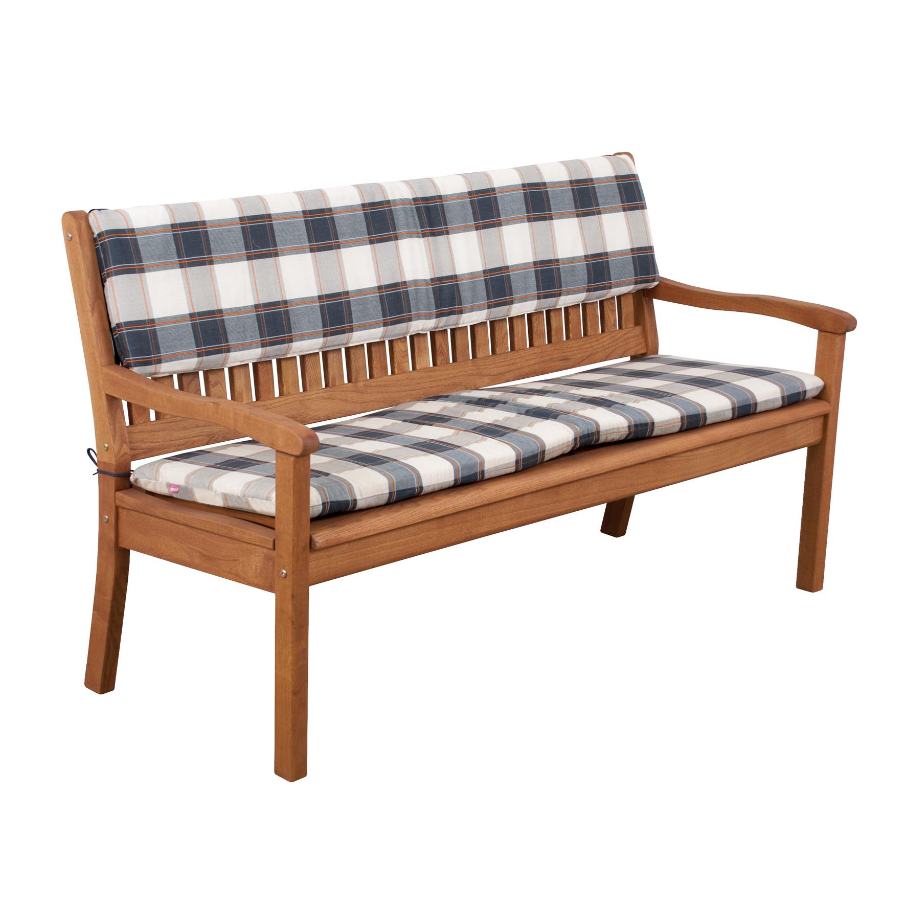 Opěrka na lavici 3 sedadla 150x30cm
