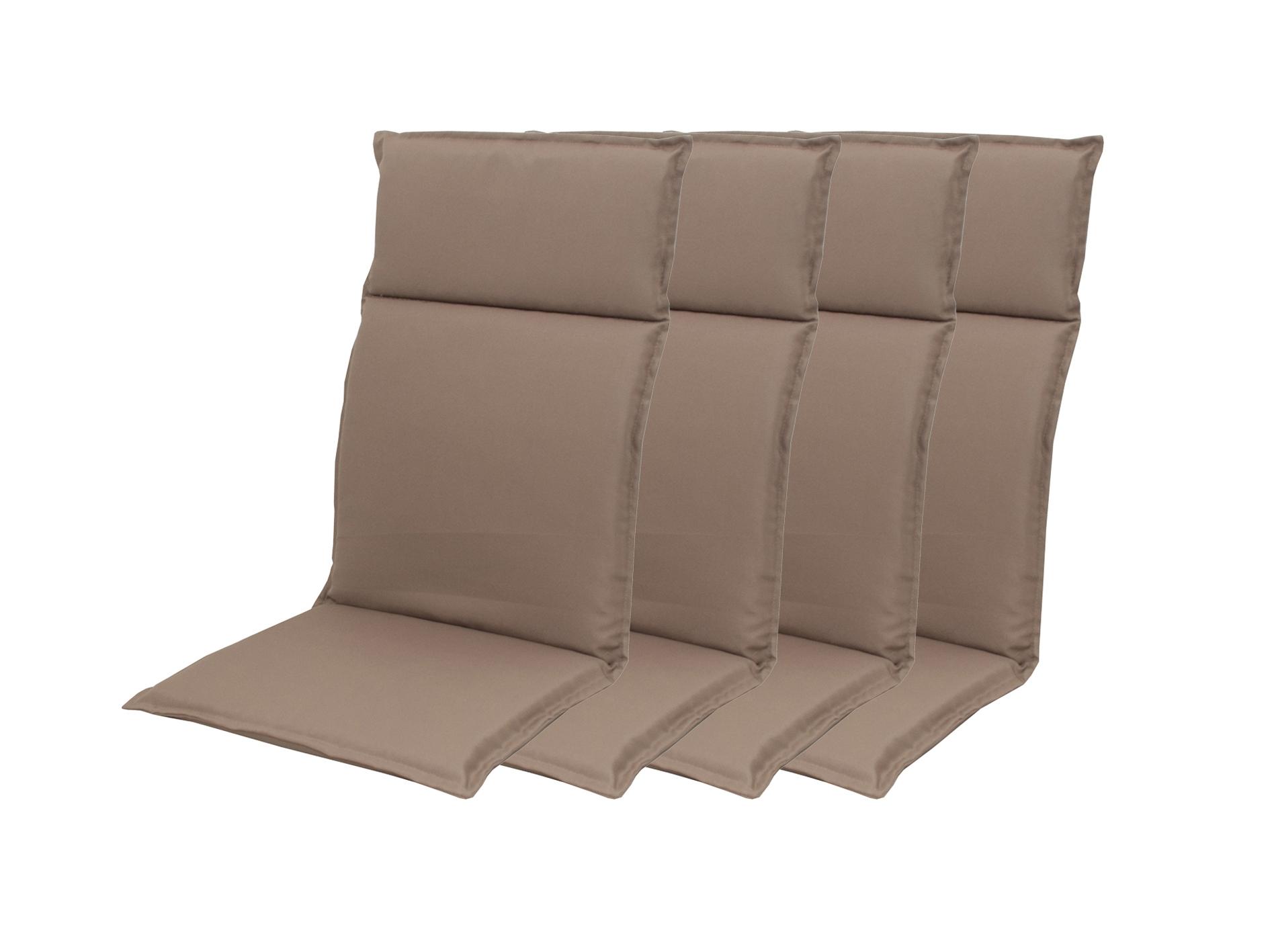 HIT UNI 7846 vysoký - set 4ks – polstr na křesla a židle