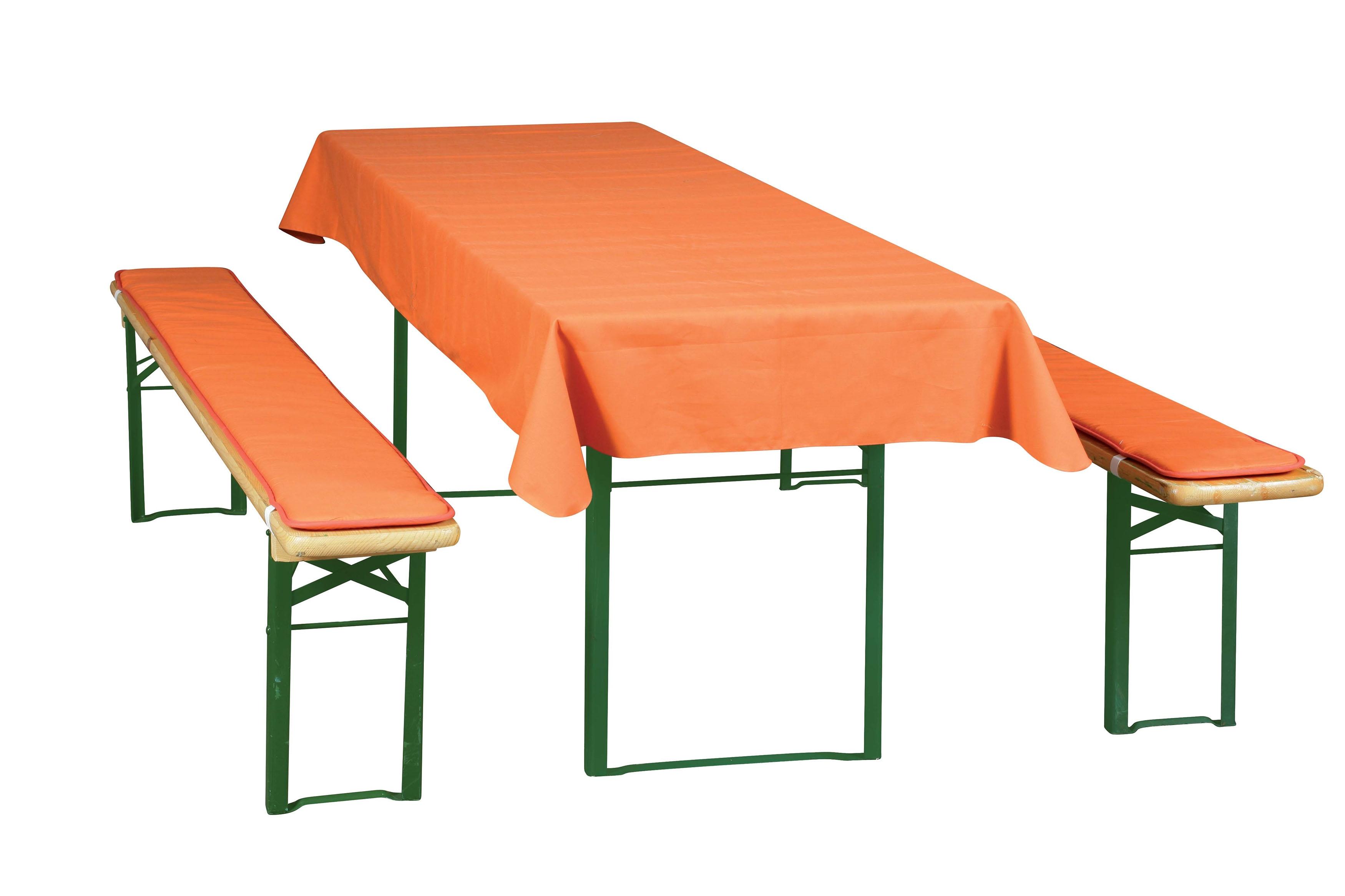 Poduškový set pro pivní lavice šíře stolu 50 cm - UNI, 931