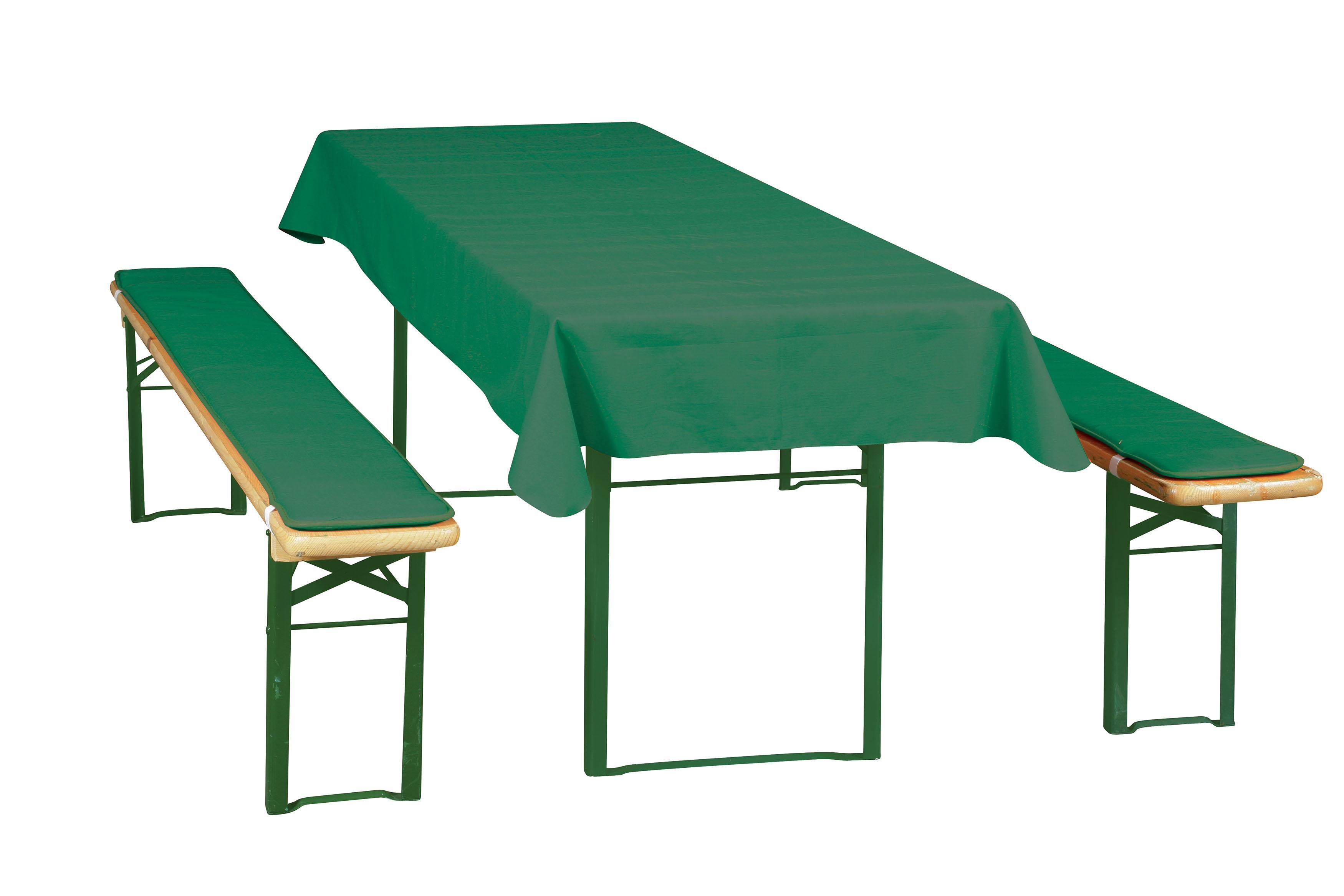 Poduškový set pro pivní lavice šíře stolu 50 cm - UNI, 904