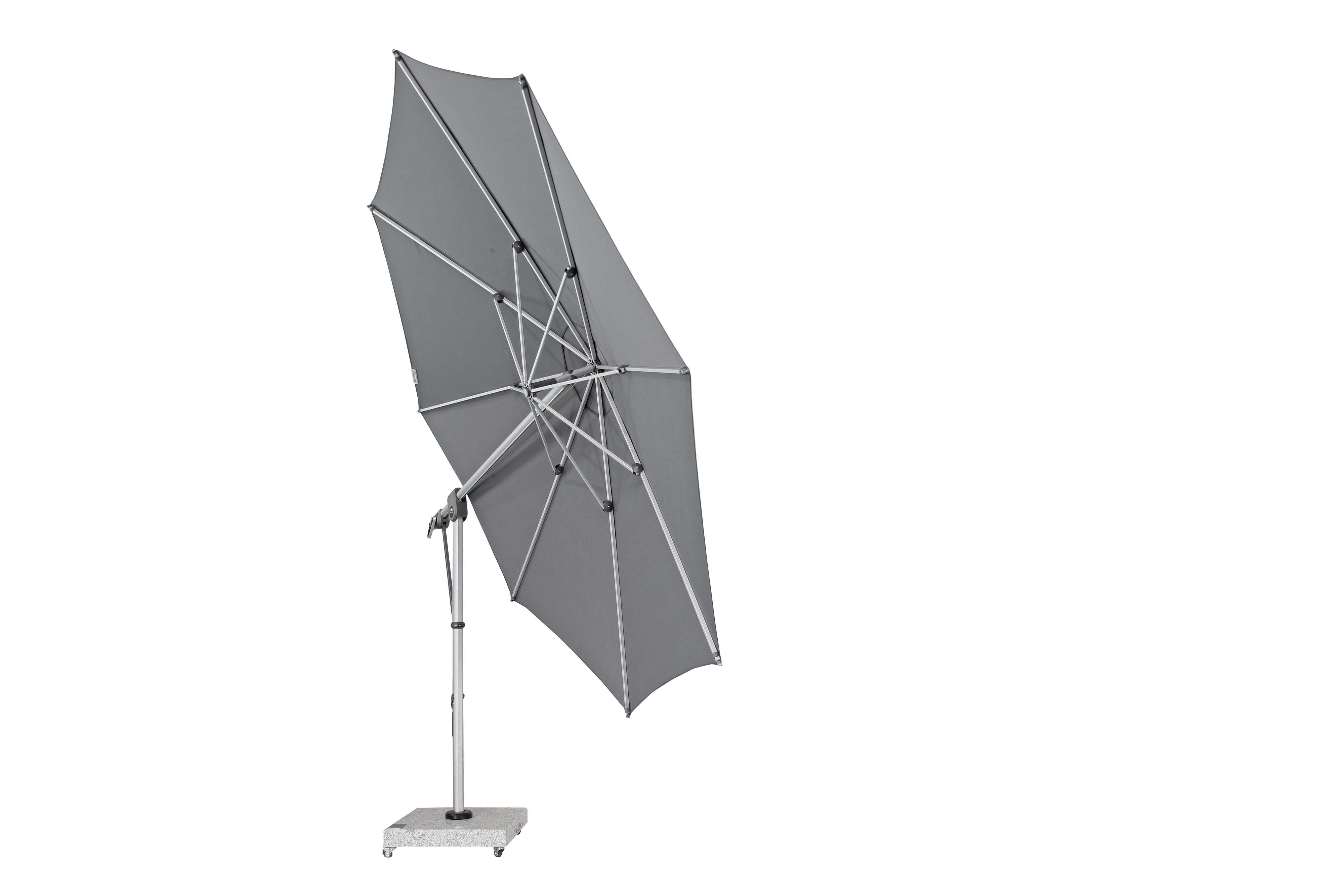 EXPERT 350P – zahradní výkyvný slunečník s boční tyčí, T840