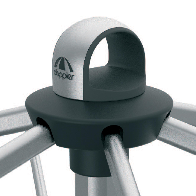 Expert s automatickým naklápěním 300x200 cm nastavitelný – naklápěcí slunečník s klikou, 840