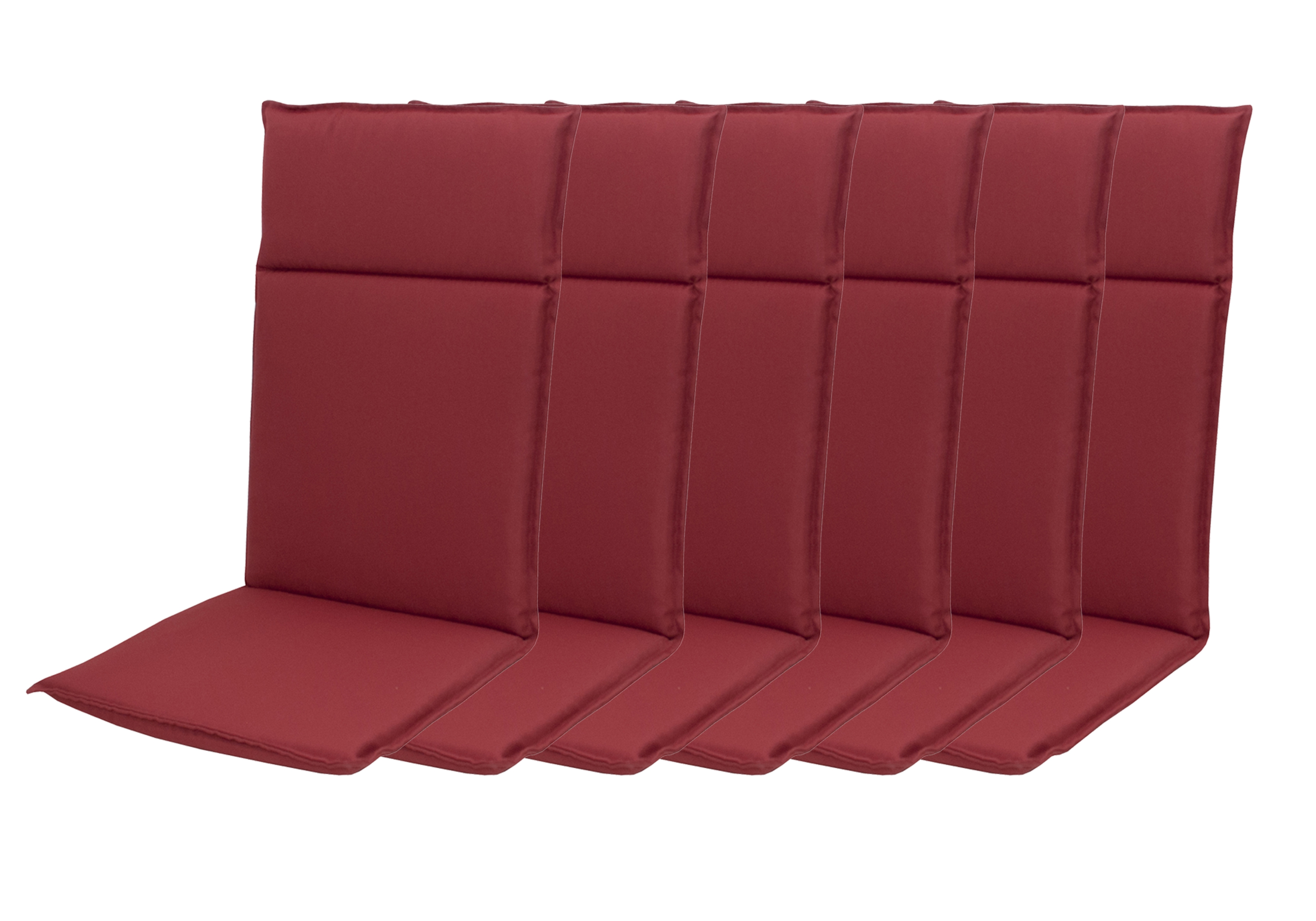 HIT UNI 8833 vysoký - set 6ks – polstr na křesla a židle