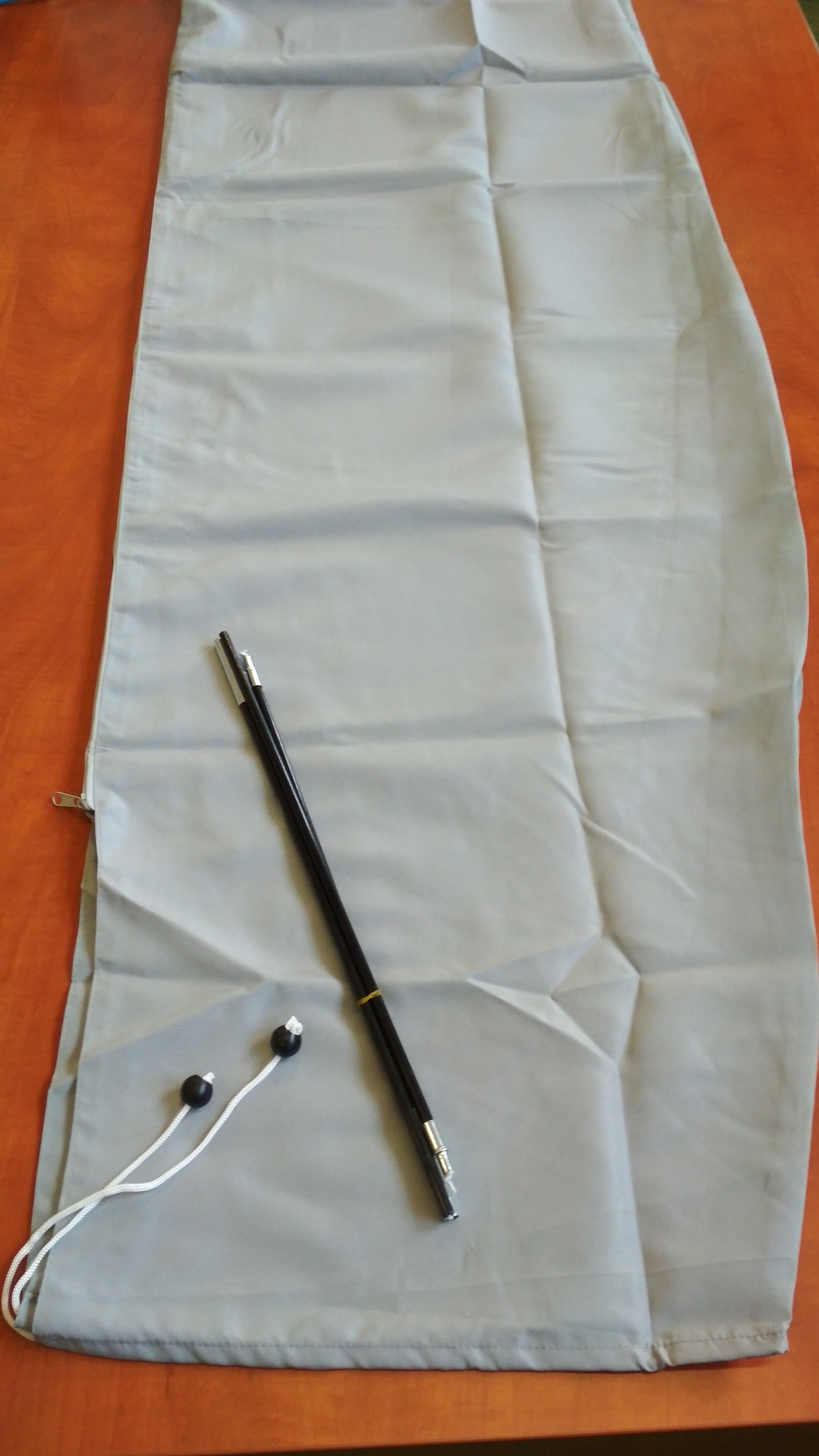 Ochranný obal pro výkyvné slunečníky až do 350 cm a 300x300 cm šedý