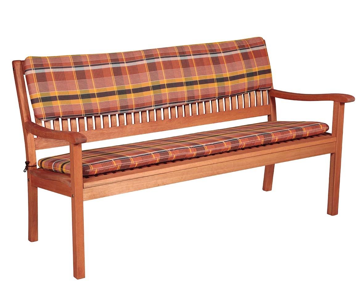Sedák na lavici 3 sedadla 150x45cm