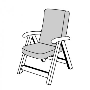 LIVING 2097 střední - polstr na židli a křeslo