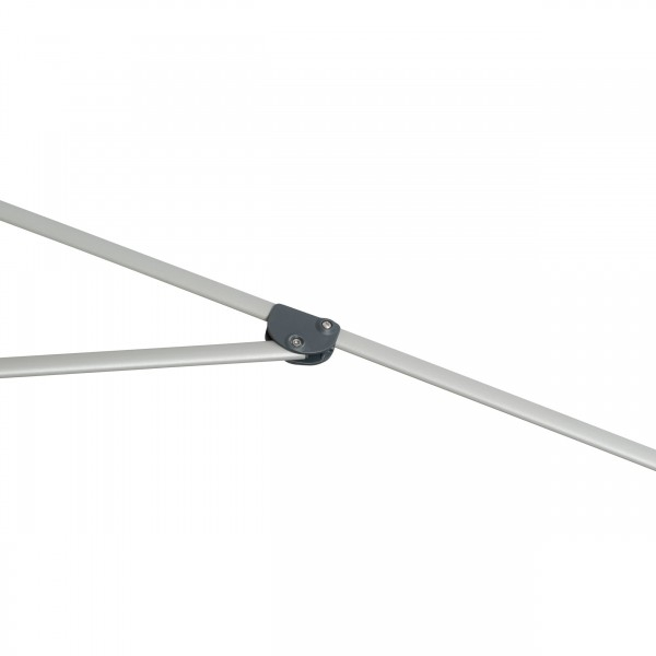Expert s automatickým naklápěním 280 cm nastavitelný – naklápěcí slunečník s klikou, 820