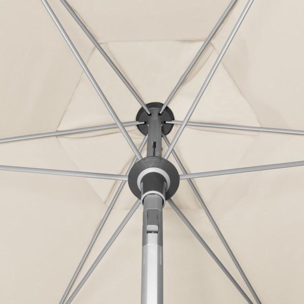 Expert s automatickým naklápěním 320 cm nastavitelný – naklápěcí slunečník s klikou, 846