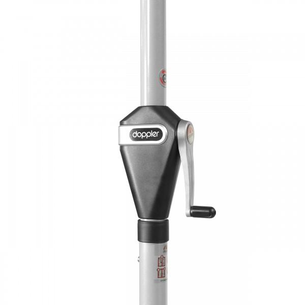 ACTIVE 280 cm automatické naklápění – naklápěcí slunečník s klikou, 836