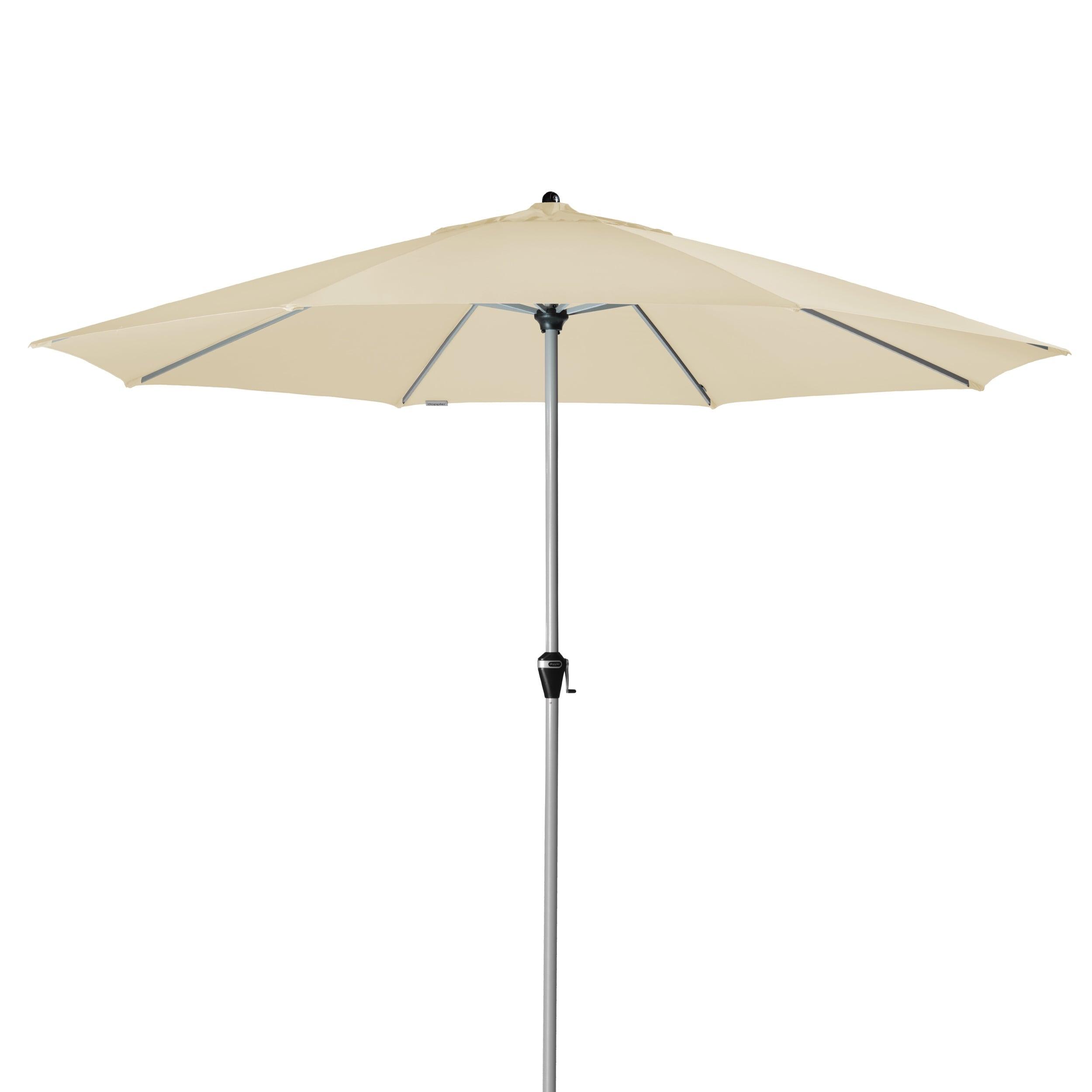 ACTIVE KURBEL 380 cm – naklápěcí slunečník s klikou