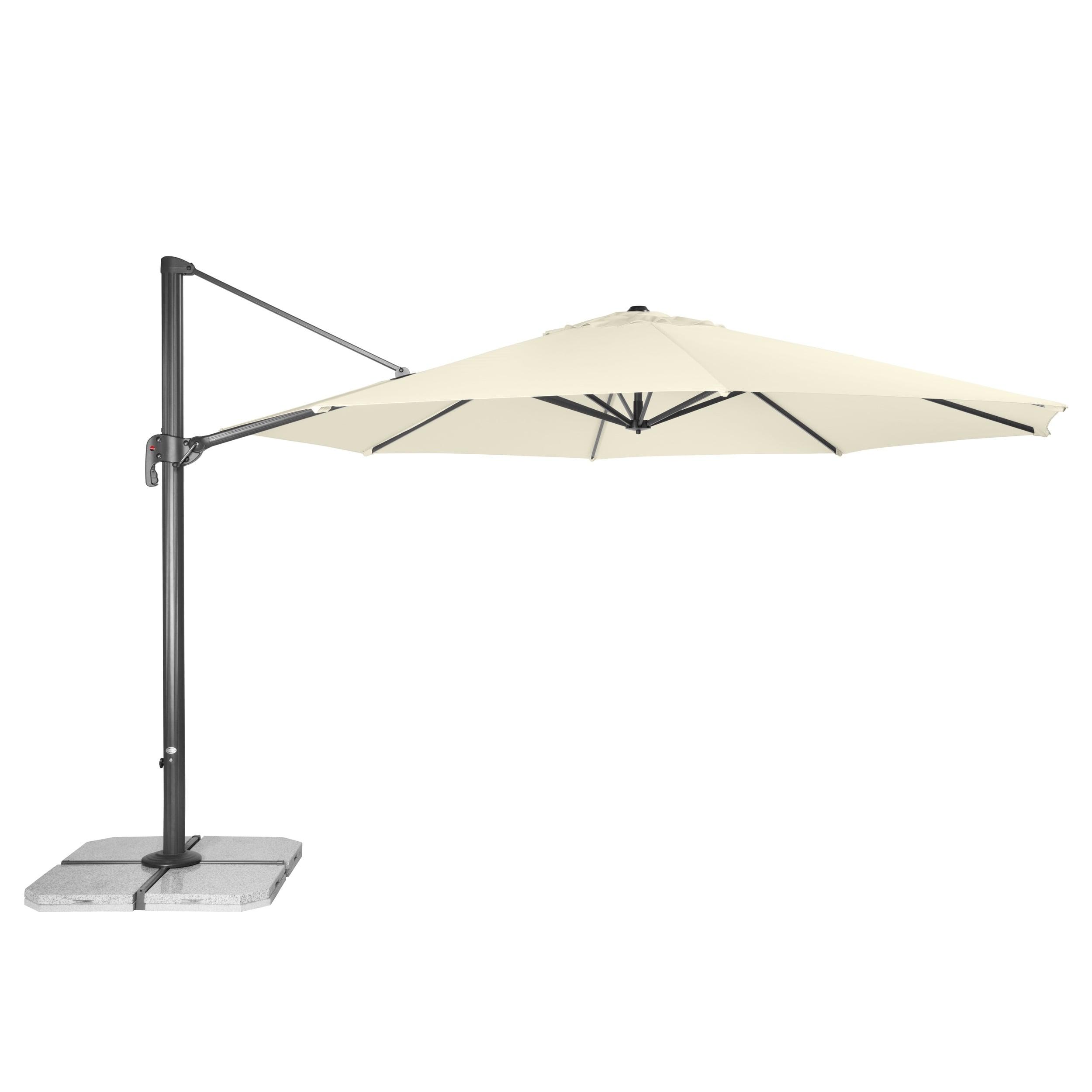 RAVENNA 400 cm – zahradní výkyvný slunečník s boční tyčí
