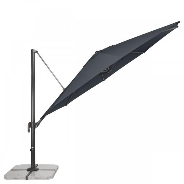 RAVENNA 400 cm – zahradní výkyvný slunečník s boční tyčí, 840