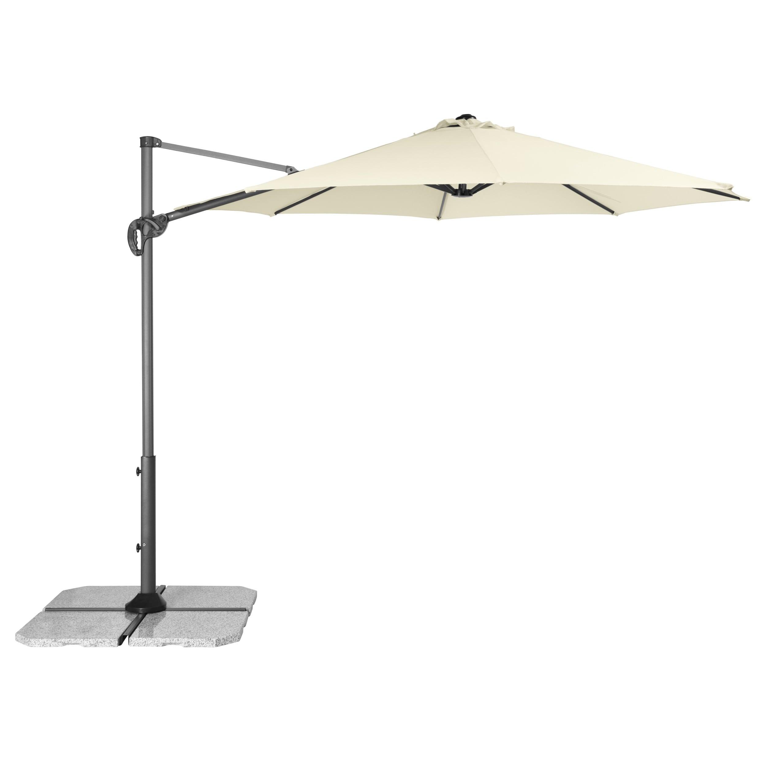RAVENNA SMART 3 m – zahradní výkyvný slunečník s boční tyčí