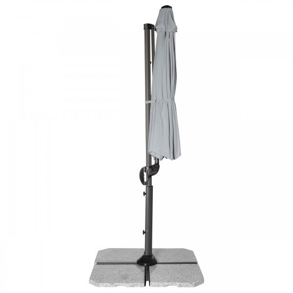 RAVENNA SMART 3 m – zahradní výkyvný slunečník s boční tyčí, 827