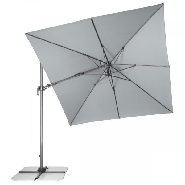 RAVENNA Axial 275x275 cm – zahradní výkyvný slunečník s boční tyčí