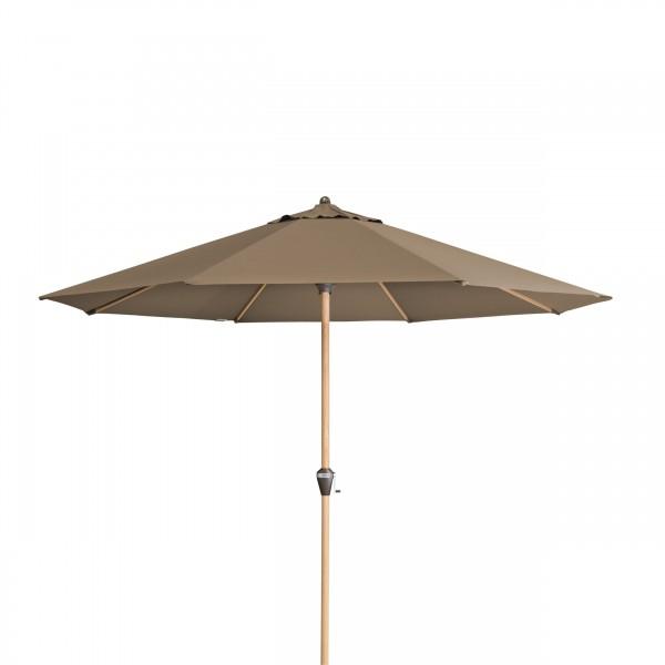 Alu Wood 350 cm – naklápěcí slunečník s klikou
