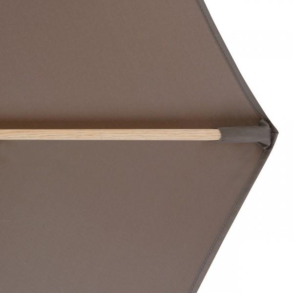 Alu Wood 350 cm – slunečník s klikou, 846