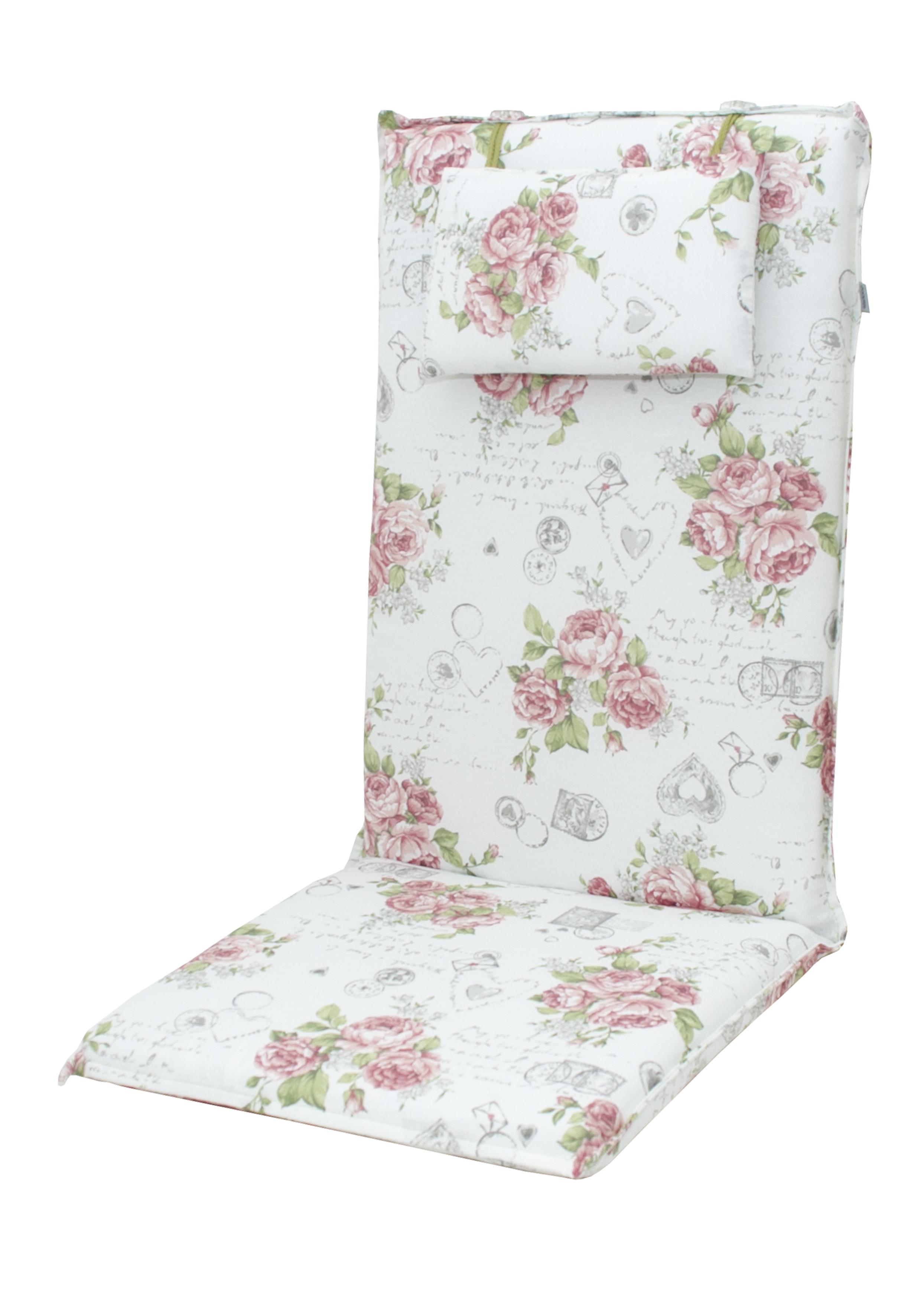 ELEGANT 2232 vysoký - polstr na židli a křeslo s podhlavníkem
