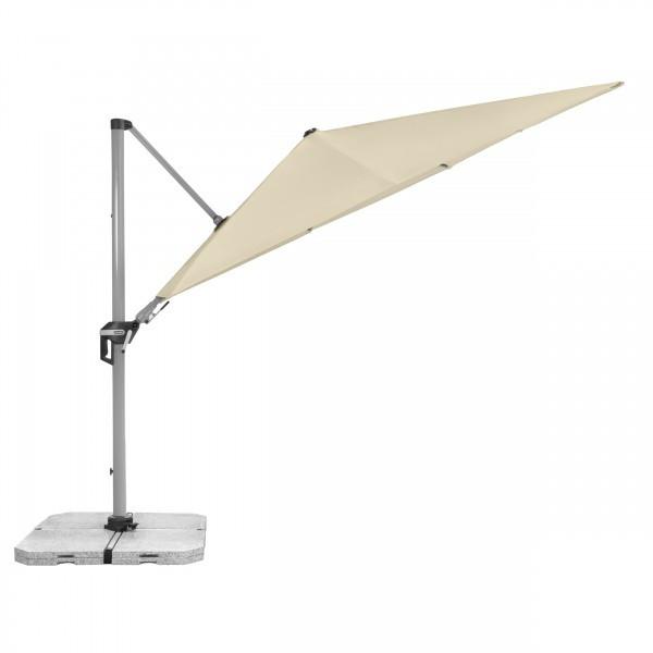 ACTIVE 3,5 x2,6 m – zahradní výkyvný slunečník s boční tyčí, 820