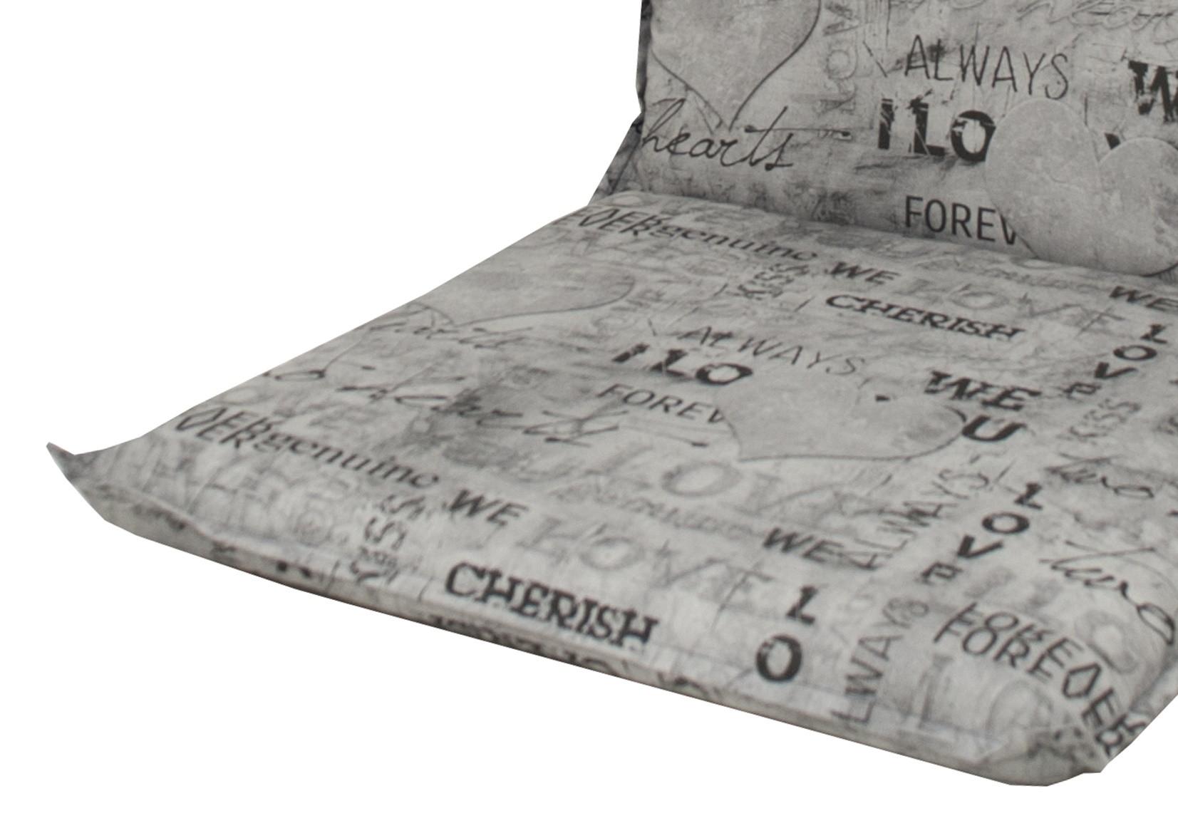 SPOT 2660 - polstr na houpačku 170 cm, Sedák a opěrka vcelku