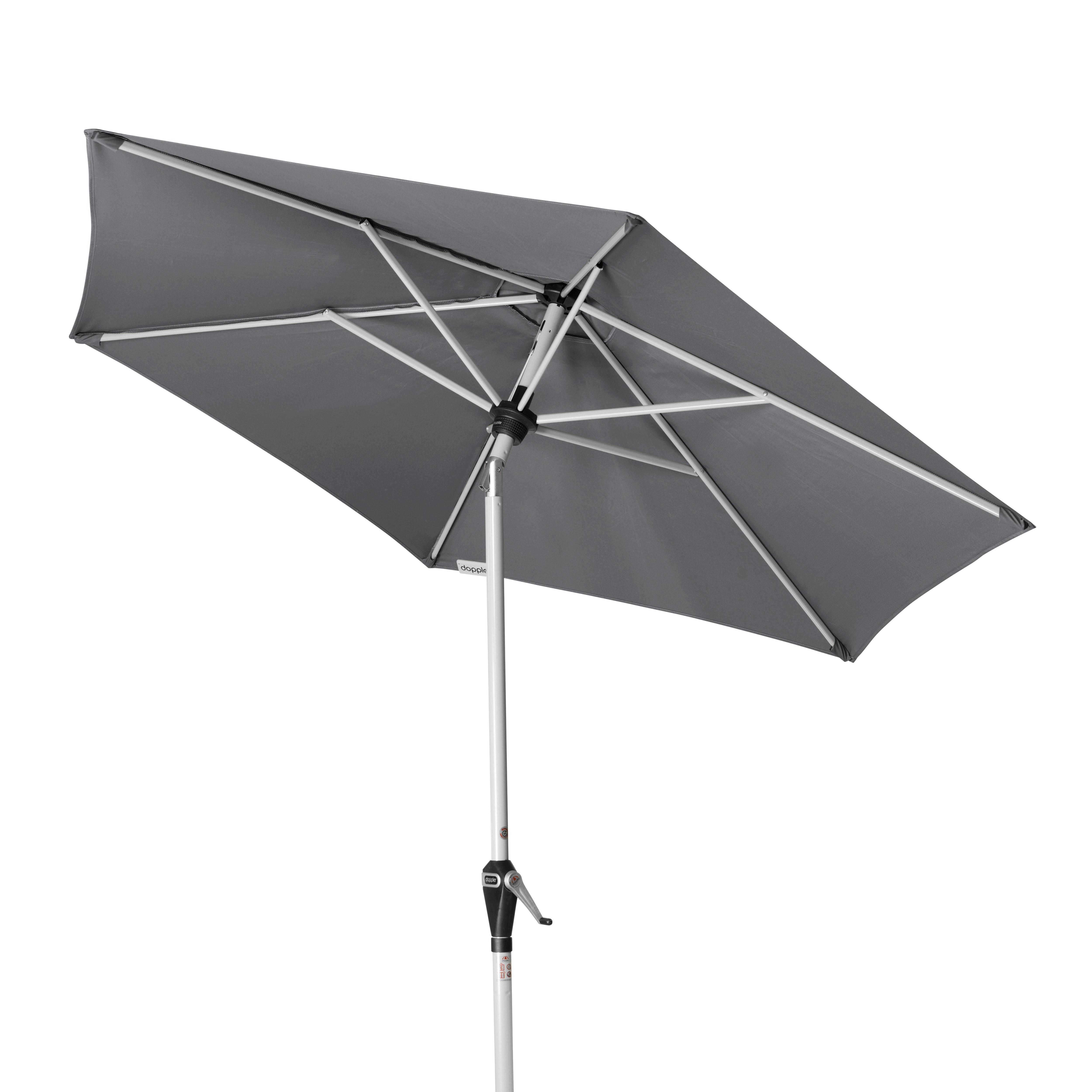 ACTIVE 210 cm - slunečník s automatickým naklápěním klikou