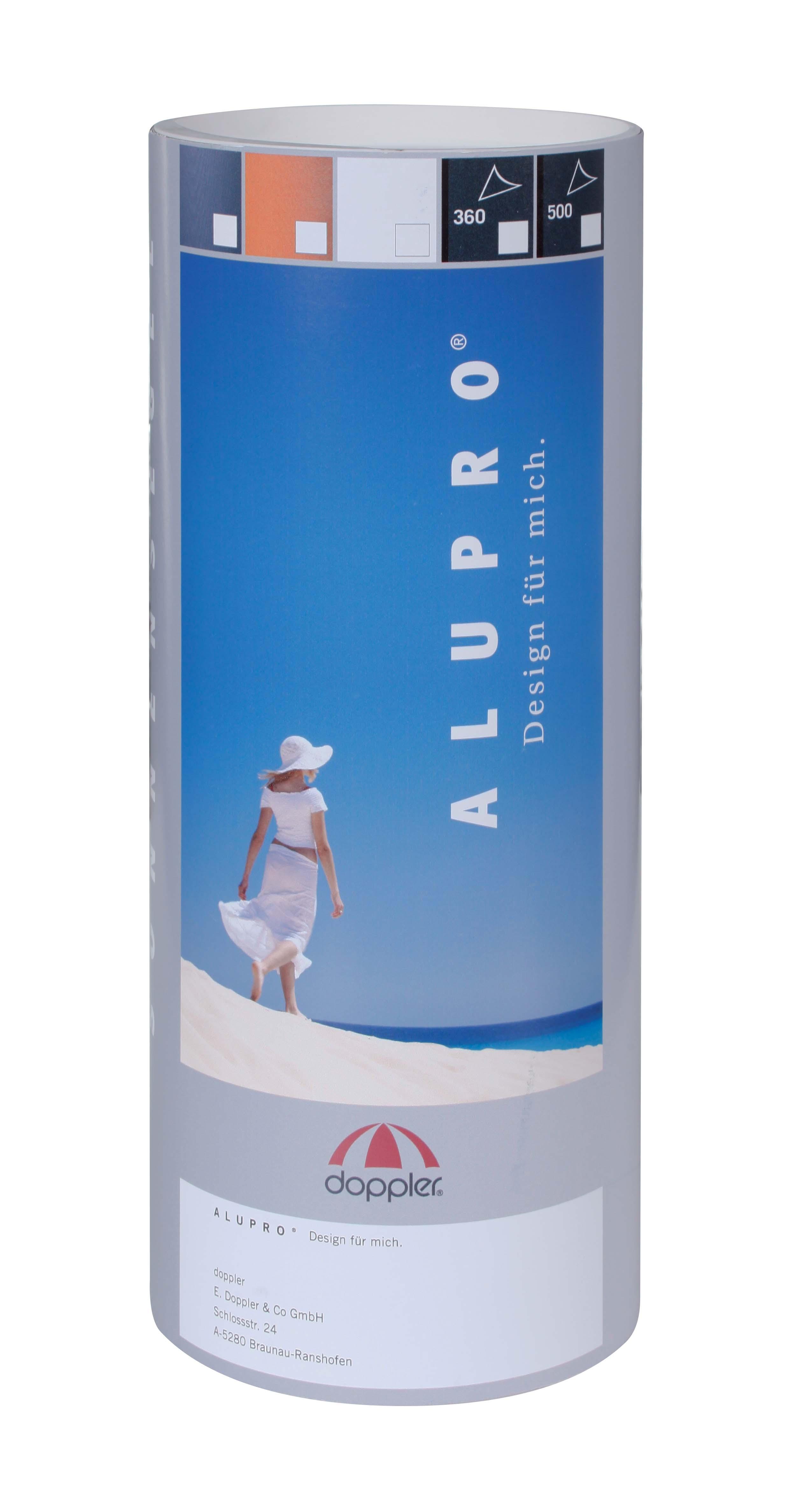 ALUPRO 360x360x360 cm - sluneční clona, 808