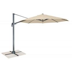 RAVENNA 350 cm - výkyvný slunečník  s boční tyčí