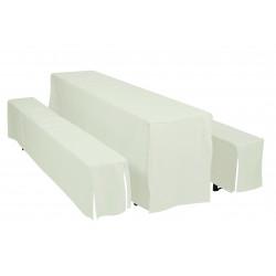 Potahy Hussen pro pivní lavice šíře stolu 70 cm