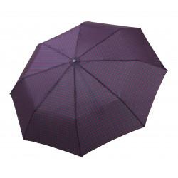 Gran Turismo Gents Print Navy - pánský plně automatický skládací deštník
