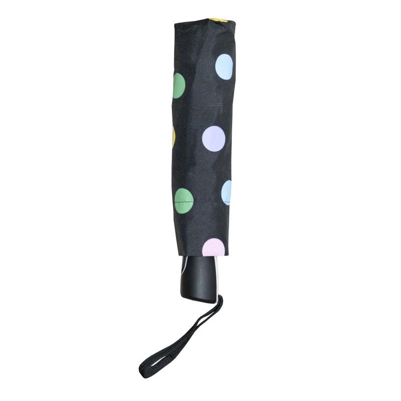 Fiber Magic - Magic Dots - dámský plně automatický skládací deštník