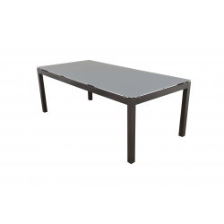 SALERNO - hliníkový zahradní stůl 150x90x74 cm