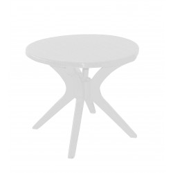 BERLÍN - plastový stůl kulatý Ø 85cm