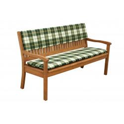 Sedák na 2-místnou lavici 110x45x6 cm