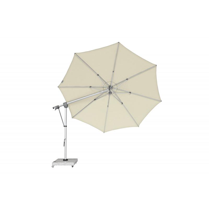 EXPERT 350P – zahradní výkyvný slunečník s boční tyčí