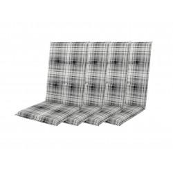 START 7104 vysoký - set 4ks – polstr na křesla a židle