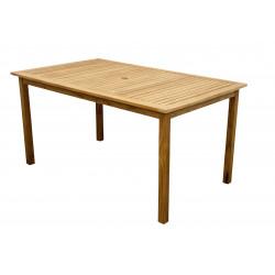 TEAKOVÝ STŮL - teakový stůl 150x90x74cm