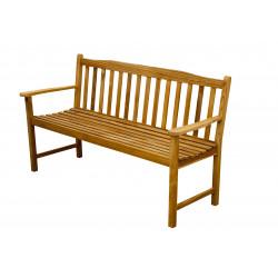 Teaková zahradní lavice 3 sedadlová