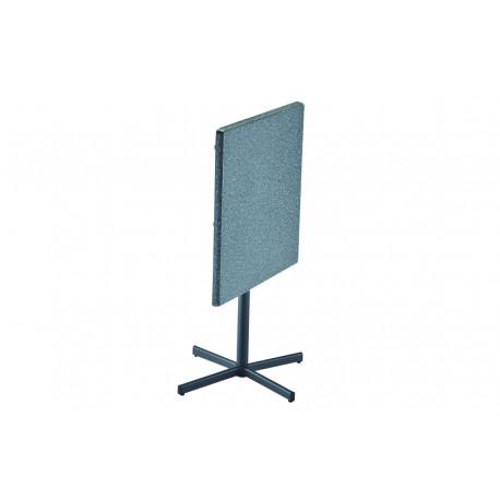 TOPALIT - hliníkový stůl sklápěcí 70x70x74cm