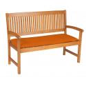 Sedák na lavici 2sed 120x45x6 cm terakota