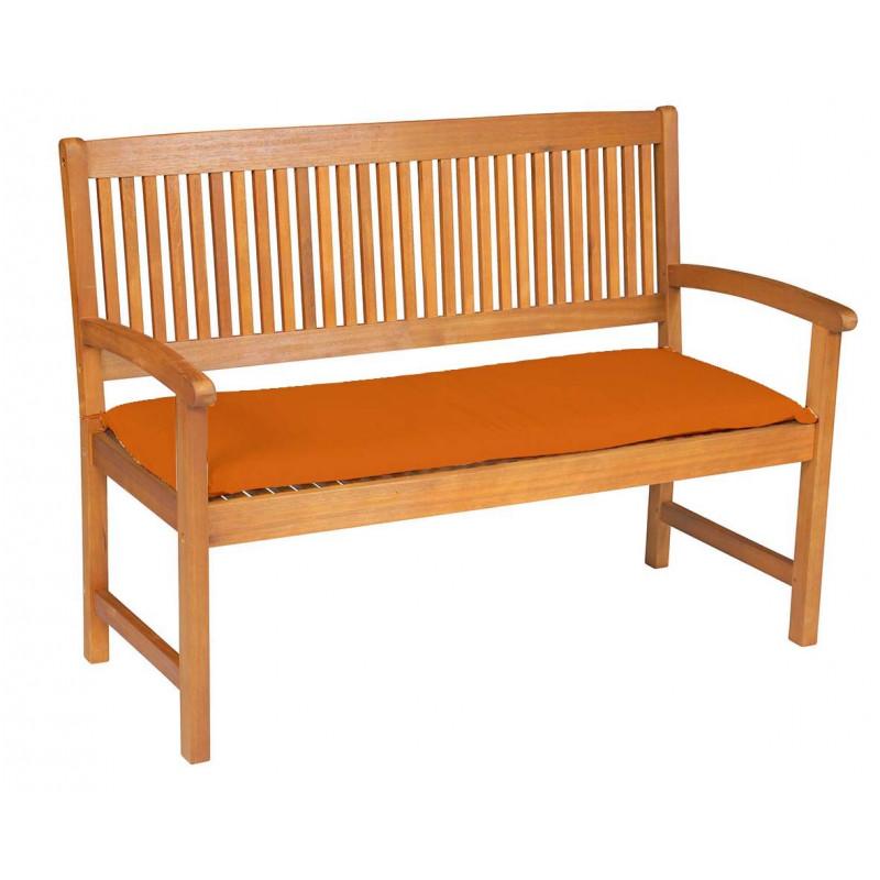 Sedák na lavici 2 sedadla 120x45cm terakota