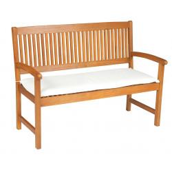Sedák na lavici 2sed 120x45x6 cm přírodní