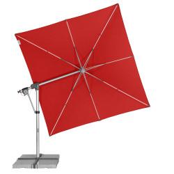 PROTECT  3 x 3 m konstrukce + potah – zahradní výkyvný slunečník s boční tyčí