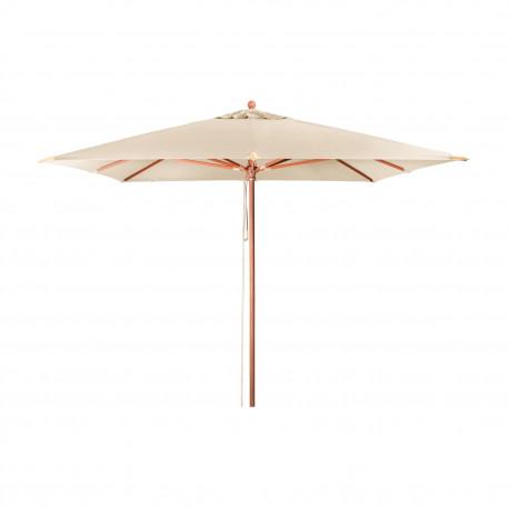 MONTE CARLO LUXUS 3x3m – dřevěný slunečník