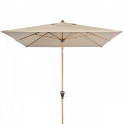 Alu Wood 300x200 cm – naklápěcí slunečník s klikou