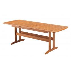 WÖRTHERSEE - dřevěný stůl rozkládací 170/220x90x72cm