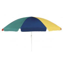 SALITO 180 cm – pestrý naklápěcí plážový slunečník