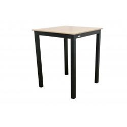 Stůl EXPERT wood antracit vysoký 90x90x110cm