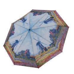 """Magic Mini Monet """"Větrné mlýny"""" - dámský plně automatický skládací deštník"""